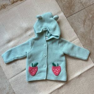 Baby Gap Strawberry Coat